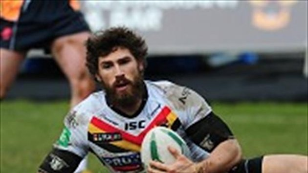 Jarrod Sammut scored a brace of tires in Bradford's victory
