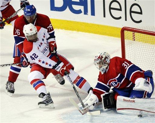 Capitals' Neuvirth stops all 31 Canadiens shots