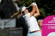 Lexi Thompson, pictured here in July, will be going for an encore performance at this week's Navistar Classic, where the American teenager became the LPGA Tour's youngest winner last year