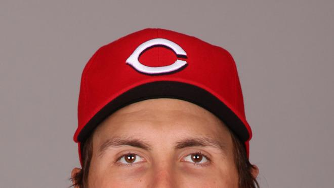 Homer Bailey Baseball Headshot Photo