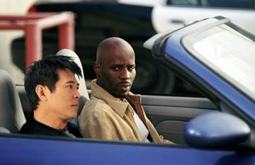 Jet Li and DMX in Warner Brothers' Cradle 2 The Grave