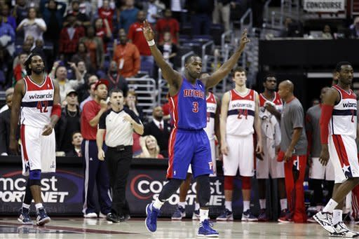 Stuckey's late jumper lifts Pistons over Wizards