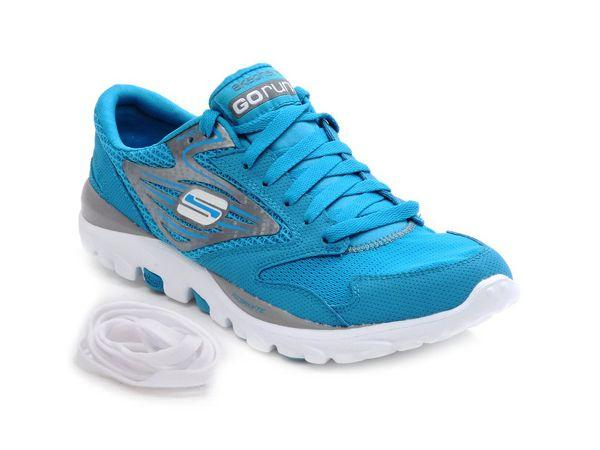 Brand: SketchersWhat: Bright blue trainersPrice: Rs.4,499Where to buy: Sketchers outlet across the country