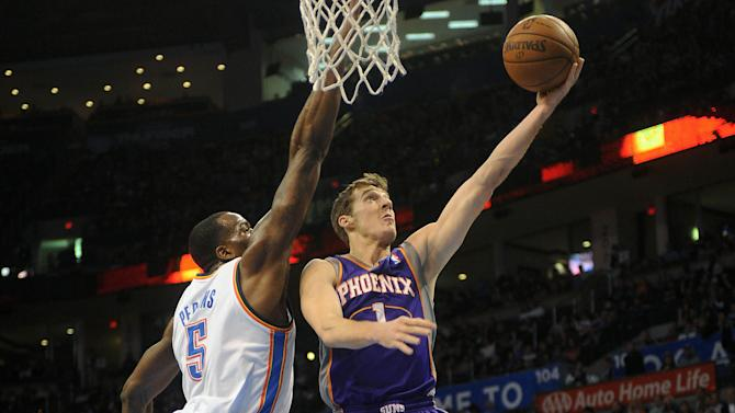 NBA: Phoenix Suns at Oklahoma City Thunder