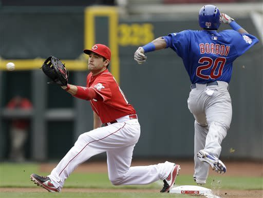 Frazier, Latos team up for Reds' 1-0 win over Cubs