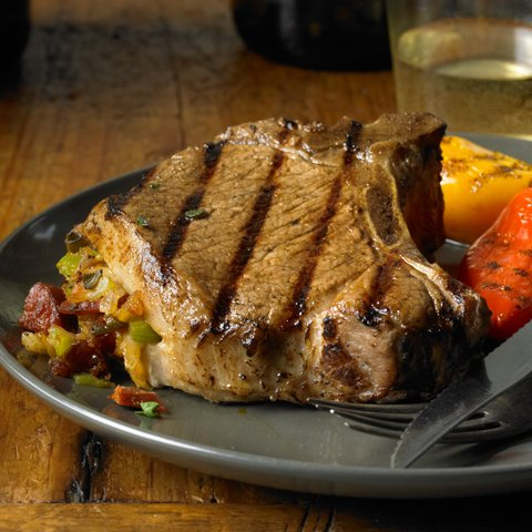 Over-the-top Grilled Pork Chops