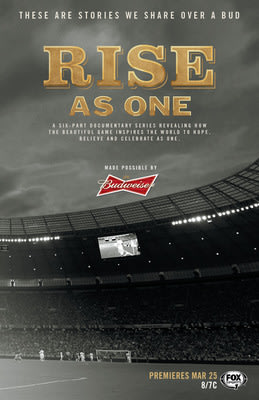 Budweiser and FOX Sports Bring Rise As One To Life Through New Documentary Series