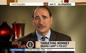 David Axelrod Would Fire Anyone Who Calls Romney 'Weird'