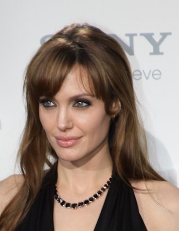 Angelina Jolie is a famous celebrity mom of twins.