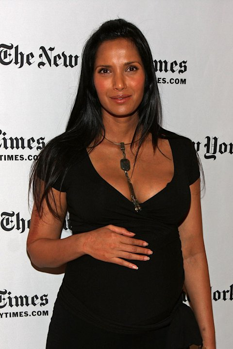Padma Lakshmi attends the 9th Annual New York Times Arts and Leisure Weekend at TheTimesCenter on January 9, 2010 in New York City.