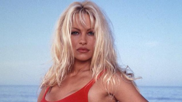 Pamela Anderson made her name in the American TV series Baywatch in the 1990s