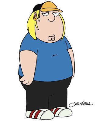 Chris Griffin (voiced by Seth Green) Family Guy