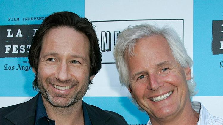 Los Angeles Film Festival 2008 David Duchovny Chris Carter