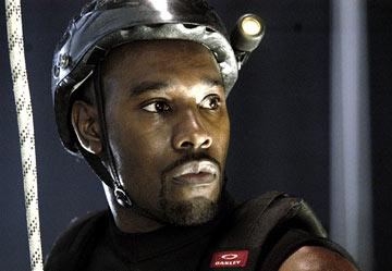 Morris Chesnut in Screen Gems' The Cave