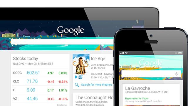 Move Over Siri: Google Now Comes to iPhone, iPad