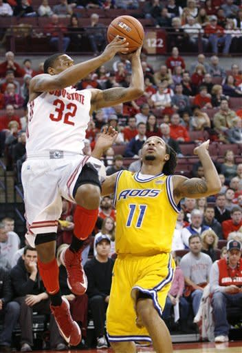 Thomas leads No. 3 Buckeyes early, 91-45