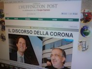 Sbarca in Italia l'Huffington Post. Debutto con intervista Berlusconi