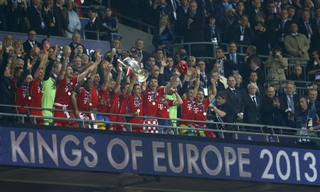 LE BAYERN MUNICH CHAMPION D'EUROPE