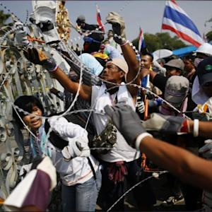 Thai Protesters Cut Power, Water To PM's Offices