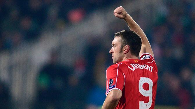 Striker Rickie Lambert has signed to West Bromwich Albion for an undisclosed fee believed to be around £3 million