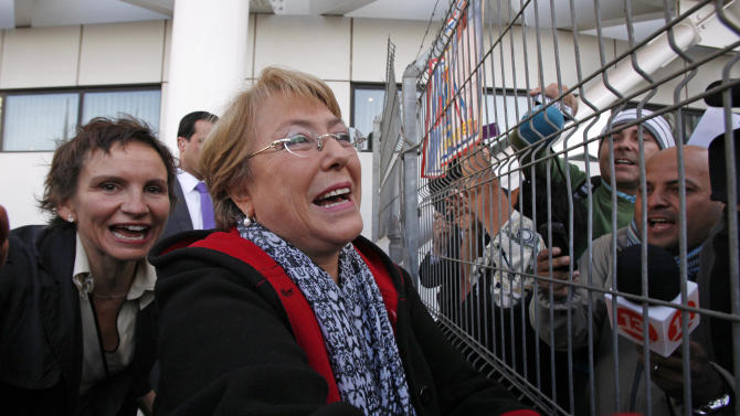 Bachelet announces presidential bid in Chile