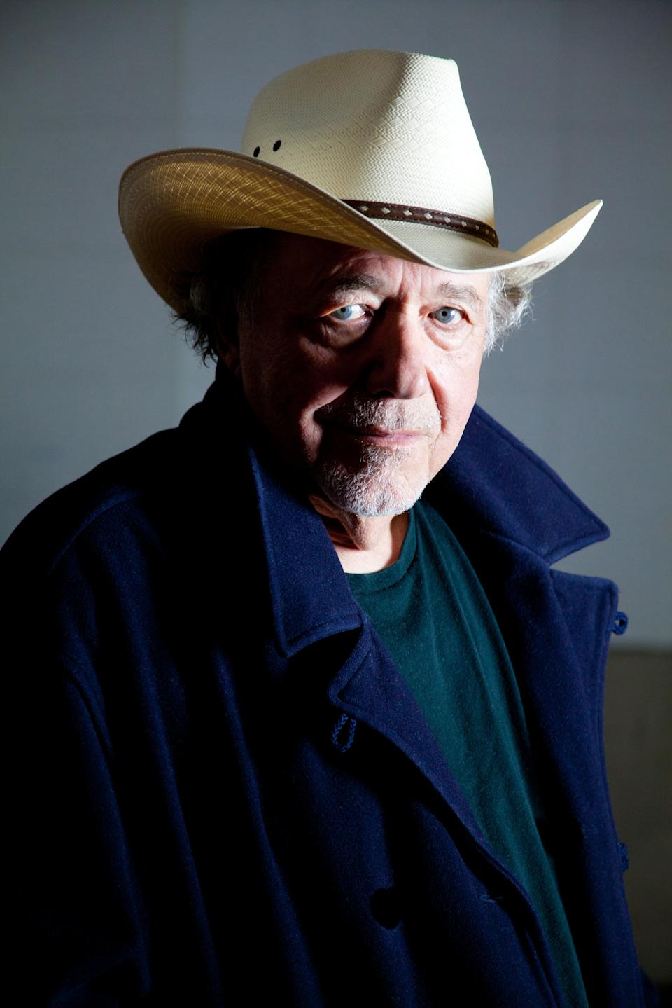"This undated image released by Plowboy Records shows musician Bobby Bare. Bare's latest album is ""Darker Than Light,"" a collaboration of Bare's favorite folks songs, including works by Bob Dylan, Lead Belly and Woody Guthrie.  (AP Photo/Plowboy Records)"