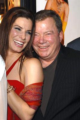Sandra Bullock and William Shatner at the Hollywood premiere of Warner Bros. Pictures' Miss Congeniality 2: Armed and Fabulous