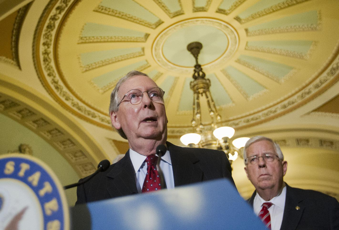 Senate OKs Republican balanced-budget plan, following House