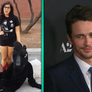 Watch a Fan ask James Franco to Prom -- Did He Say 'Yes'?!