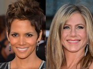 Halle Berry, Jennifer Aniston -- Getty Images
