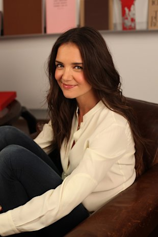 Katie Holmes On Not Being Trend-Driven, Designing Kids Wear PLUS Holmes & Yang At New York Fashion Week