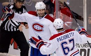 Cole nets 2 in 3rd, Canadiens beat Canucks 4-1