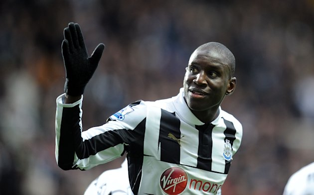 Demba Ba scored the opening goal in the 2-1 win over West Brom on Sunday