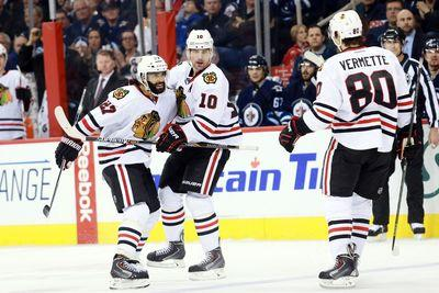 NHL scores 2015: Blackhawks stun Jets on the road, Jaromir Jagr leads Panthers again