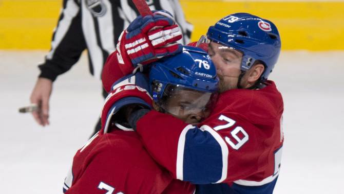 Canadiens topple Maple Leafs 4-2