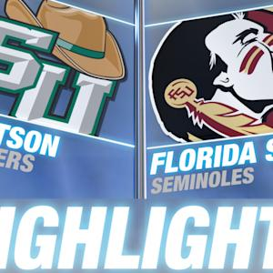 Stetson vs Florida State | 2014-15 ACC Men's Basketball Highlights