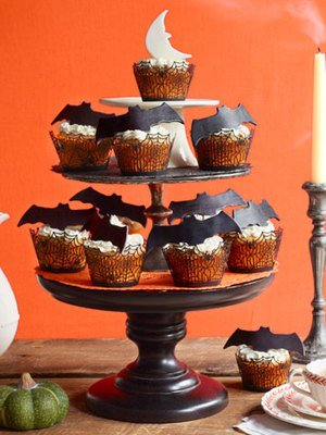 Bat Cupcakes
