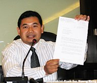 PKR's Rafizi arrested, charged under Bafia