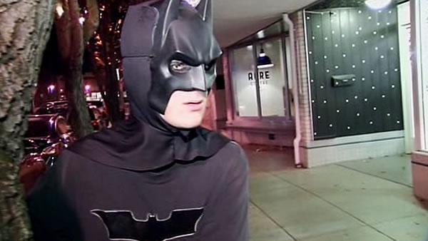 Petaluma Batman helps patrol downtown streets