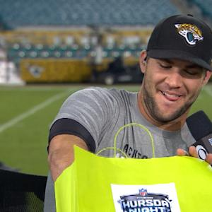 Jacksonville Jaguars quarterback Blake Bortles: I don't ever get tired of football