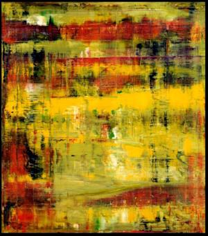 """This photo provided by Christie's Auction House shows a 1994 oil painting by German abstract painter Gerhard Richter entitled """"Abstraktes Bild."""" The painting, currently owned by English guitarist and songwriter Eric Clapton, will be offered at auction by Christie's on November 12, 2013. (AP Photo/Christie's Auction House)"""