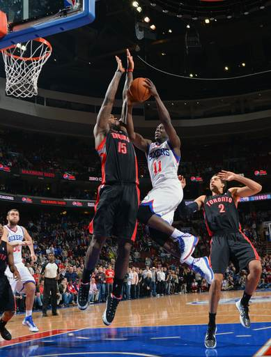Holiday leads 76ers past Raptors 108-101 in OT