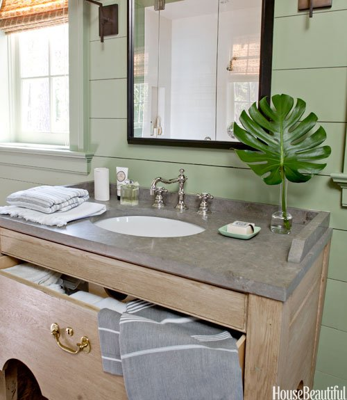 Oval Sink 8 Smart Ideas for Small Bathrooms - Yahoo She Philippines