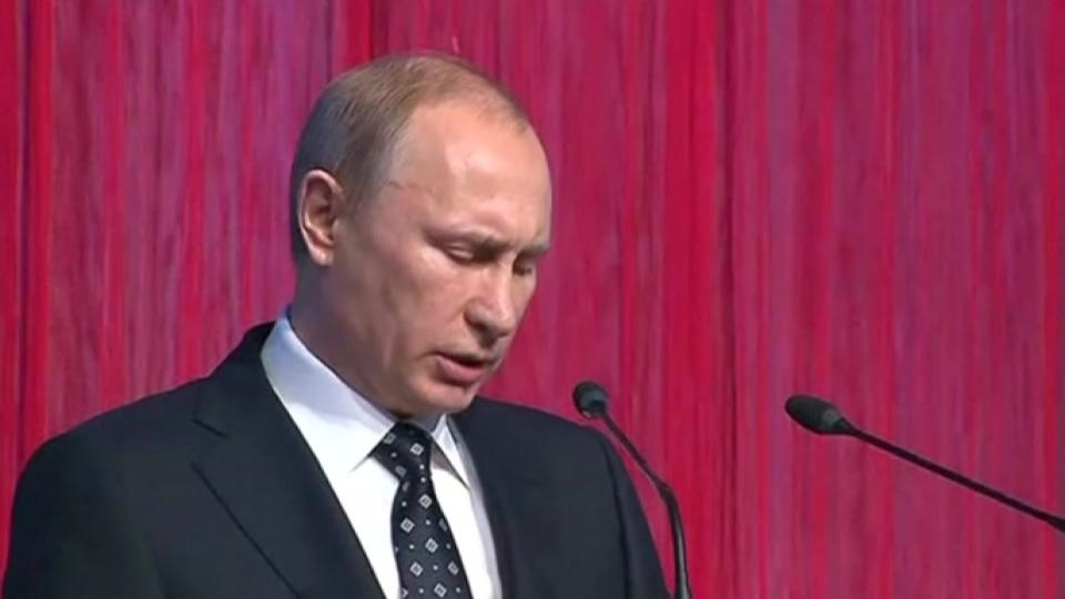 Putin says Russia won't be intimidated over Crimea