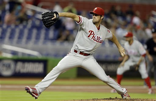 Sanabia outpitches Hamels; Marlins beat Phils 5-1