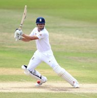 Alastair Cook was amongst the runs again for England