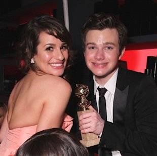Lea Michele - Chris Colfer