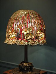 original Tiffany lamp from The Metropolitan Museum of Art