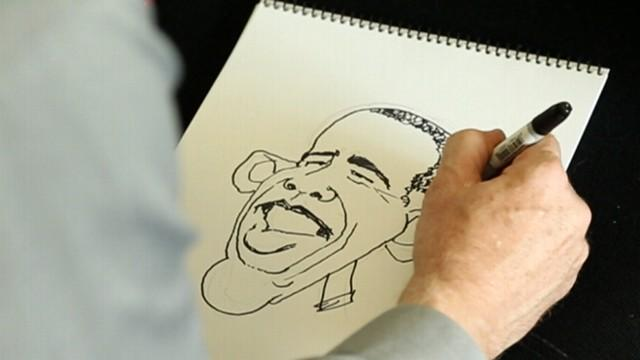 Political Satire: Cartooning President Obama, Mitt Romney, and the Rise of 3-D Animation