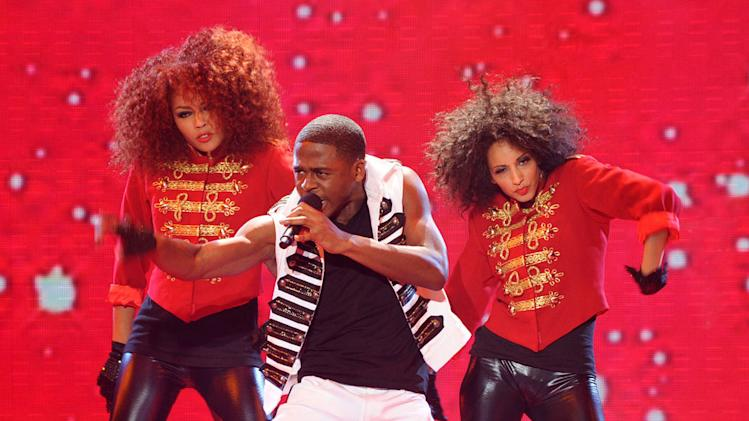 "Marcus Canty performs ""P.Y.T. (Pretty Young Thing)"" by Michael Jackson on ""The X Factor."""